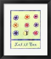 Framed Let It Bee