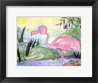 Framed Swamp Livin