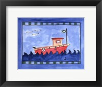Framed Tugboat