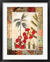 Framed Garden Tropicalismo I