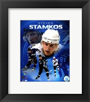 Framed Steven Stamkos 2010 Portrait Plus