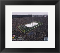 Framed Michigan Stadium Michigan Wolverines Vs. Michigan St. Spartans