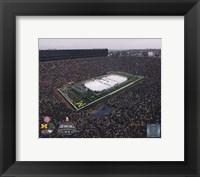 Framed Michigan Stadium Michigan Wolverines Vs. Michigan St. Spartans