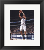 Framed Dirk Nowitzki 2010-011 Action