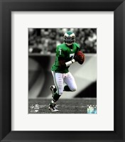 Framed Michael Vick 2010 Spotlight Action
