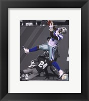 Framed Dez Bryant 2010 Spotlight Action