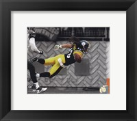 Framed Troy Polamalu 2010 Spotlight Action