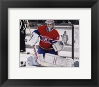 Framed Carey Price 2010-011 Spotlight Action