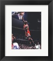 Framed Michael Jordan 1995-96 Action