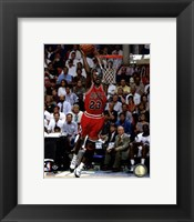 Framed Michael Jordan 1994-95 basketball