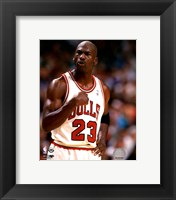Framed Michael Jordan 1994-95 basketball Action