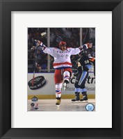 Alex Ovechkin 2011 NHL Winter Classic Action Framed Print