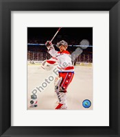 Semyon Varlamov 2011 NHL Winter Classic Action Framed Print