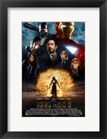 Framed Iron Man 2 Explosion