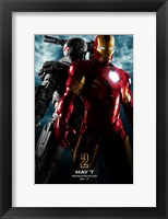 Framed Iron Man 2 Gray Armor