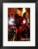 Framed Iron Man 2 Transformation