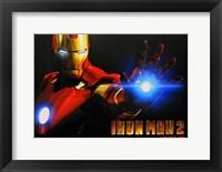 Framed Iron Man 2 Close Up