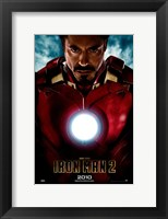Framed Iron Man 2 2010