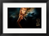 Framed Iron Man 2 Pepper Potts