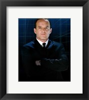 Framed Iron Man 2 Agent Phil Coulson