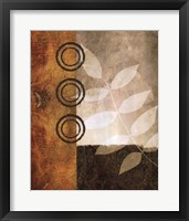 November Textures II Framed Print