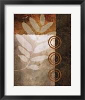November Textures I Framed Print