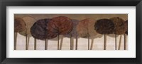 Leaves Show I Framed Print