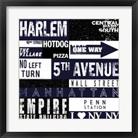 New Your City Framed Print