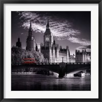 London Bus IV Framed Print
