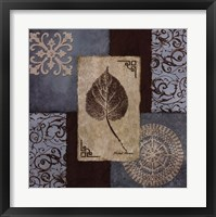 Winter Leaf I Framed Print