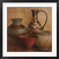 Framed Decorative Vessel Still Life I detail