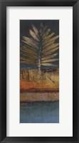 Island Leaf II Framed Print