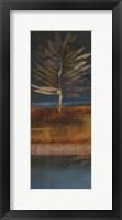 Island Leaf I Framed Print
