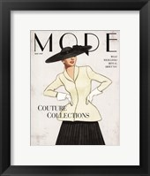Mode Framed Print