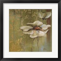 The Green Flowers II Framed Print