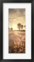 Distant Season Panel Framed Print