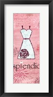 Splendid Framed Print