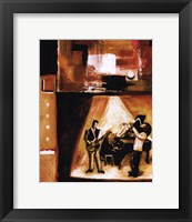 Musical Trio II Framed Print
