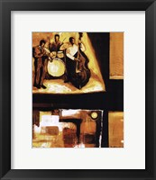 Musical Trio I Framed Print