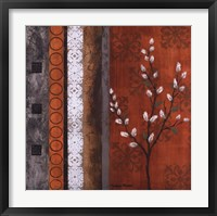 Willow Stems II Framed Print
