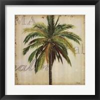 La Palma I Framed Print