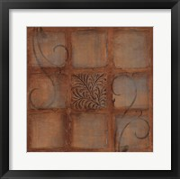 Tile Motif II Framed Print