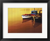Framed Boat I
