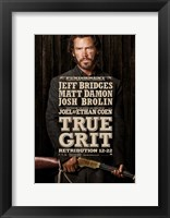 True Grit Jeff Bridges Framed Print