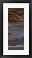 Blue Eclectic VI Framed Print