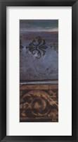 Blue Eclectic V Framed Print