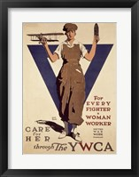 Framed For Every Fighter a Woman Worker YWCA