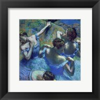 Framed Blue Dancers, c.1899