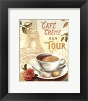 Cafe in Europe II Framed Print