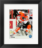 Framed Scott Hartnell 2010-011 Action